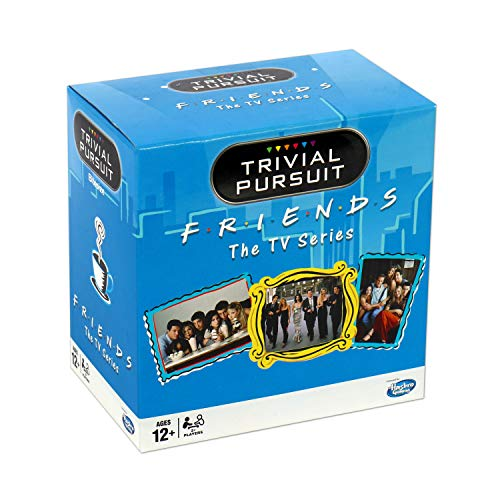 Winning Moves 27342 Friends Trivial Pursuit Quiz-Spiel – Bitesize Edition, Blau, Einheitsgröße