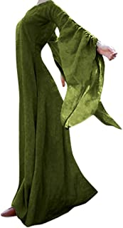Clearance Halloween Dress, Costume Women Medieval Dress Vintage Retro Gown Long Dress Halloween Cosplay Costumes