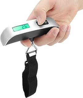 Digital Hanging Luggage Scale,Mini Electronic Digital Balance Hanging Held Weighing Hanging Scales for Luggage Suitcase