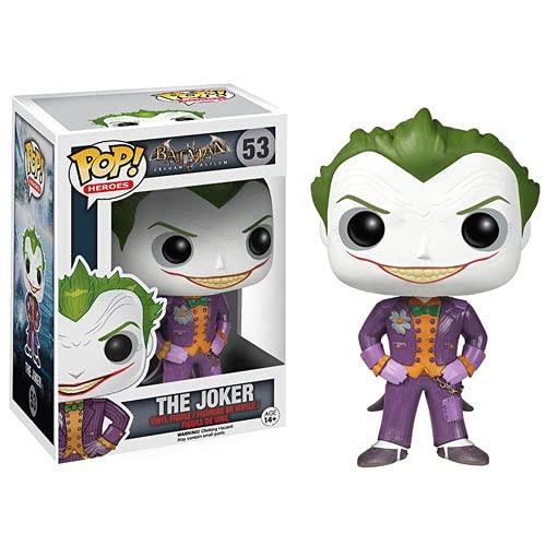 XR Pop Batman: The Joker of Arkham Madhouse Movie Cartoon Character Handmade Model Decoration Ornaments