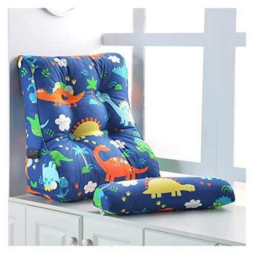 Lanrui Dreieck Kissenbezug Kissen Weiche Tasche Bett Kissen Kopfboard Großer Dreieck Sitz Rückenstuhl Boden Geschenk Wohnkultur (Color : B, Spezifikation : 55X60X30CM)