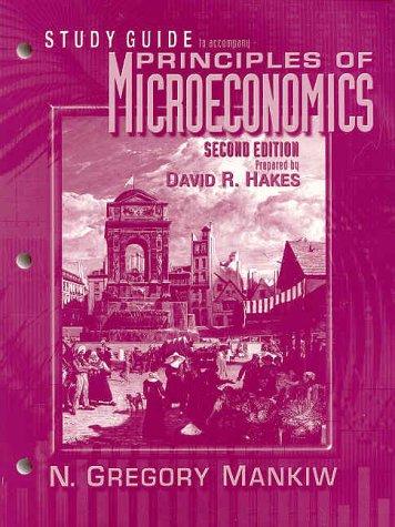 Principles of Microeconomics (Study Guide)