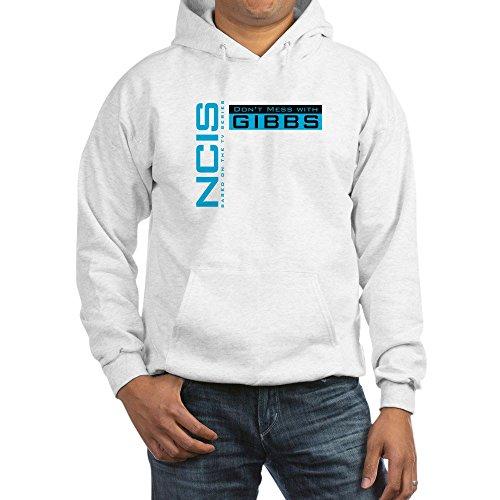 CafePress NCIS Don't Mess Gibbs Sweatshirt Gr. Medium, weiß