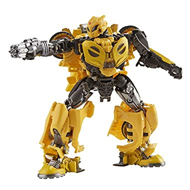 Transformers Toys Studio Series 70 Deluxe Class Bumblebee B-127 Action Figure – Ages 8 and Up, 4.5-inch