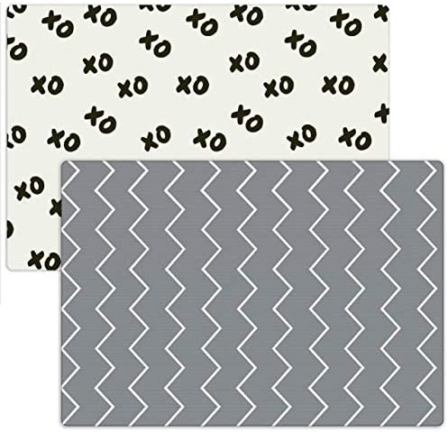 Moodie Foam Playmat Extra Large Baby Play Mat for Toddlers 6 5ft x 4 6ft Waterproof Reversible product image