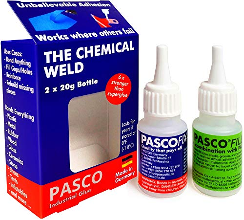 PASCOFIX Strongest Super Glue CA Glue Crazy Glue Super Glue Ceramic Super Glue...