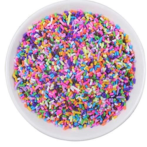 LAVALINK Fake Sprinkles Decoration for Slime Filler Diy Slime Supplie Simulation Candy Cake Dessert Accessories Toy for Children Gift
