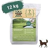 Wildes Land | Trockenfutter für Hunde | Nr. 7 Lamm & Lachs | 12 kg | mit Kartoffeln und...