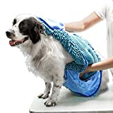 Tuff Pupper Large Dog Shammy Towel | Ultra Absorbent | Durable 35 x 15...