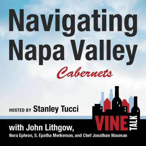 『Navigating Napa Valley Cabernets』のカバーアート