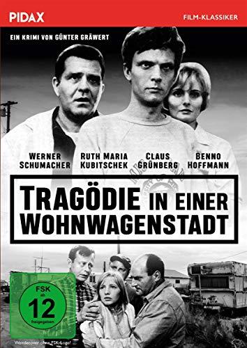 Tragödie in einer Wohnwagenstadt / Spannender Lynchjustiz-Krimi nach einer Vorlage von Reginald Rose (Die 12 Geschworenen) (Pidax Film-Klassiker)