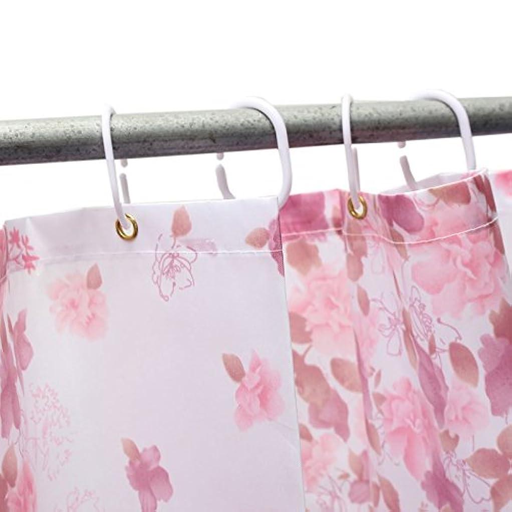 デモンストレーションバイバイ暴力的なファッション新しい赤い小さな花防水浴室風呂シャワー カーテン ポリエステル 67 × 70