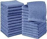Utopia Towels - 24 Toallas para la Cara de algodón, Paños de algodón (30 x 30 cm) (Azul eléctrico)