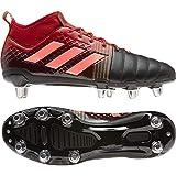 Adidas Kakari X-Kevlar 2 (SG), Chaussure de Rugby Homme, CBLACK/SIGCOR/Scarle, 43 1/3 EU