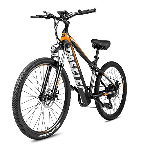KEPEACE PASELEC G9 27.5' Ebike 48V Mountain Electric Bike for Adult 350W Electric Bicycle Removable Lithium Battery Shimano 7-Speed