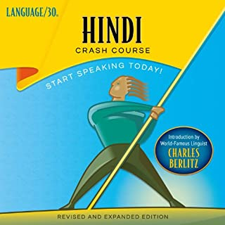 Hindi Crash Course by LANGUAGE/30 audiobook cover art