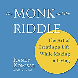 The Monk and the Riddle audiobook cover art