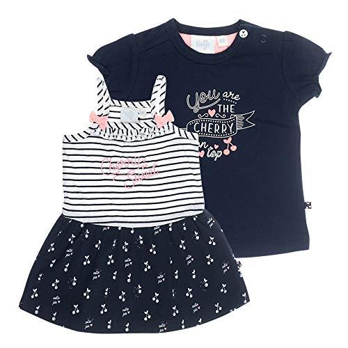 Feetje Baby-Mädchen Kleid und T-Shirt Cherry Sweet, 74