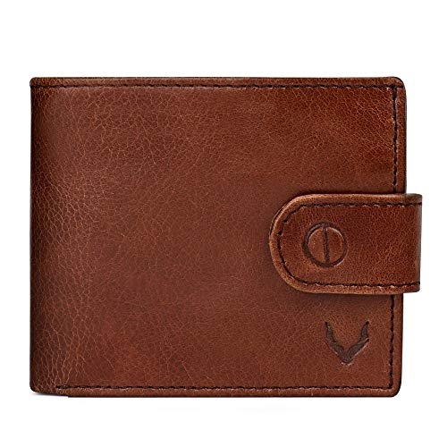 Pelle Toro Handmade Mens Leather Wallet in Wooden Mens Gift Box, with Coin Pocket, RFID...