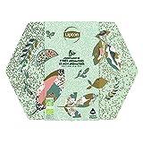 Lipton Coffret Métal, Assortiment de 7 Thés Bio Aromatisés & Non-Aromatisés, 100% bio, Idée cadeau, idéal à offrir pour la Fête des Mères, 48 Sachets Pyramid