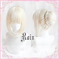 耐熱コスプレウィッグ  Fate/stay night フェイト・ステイナイト フェイト セイバー Saber コスチュム cos wig