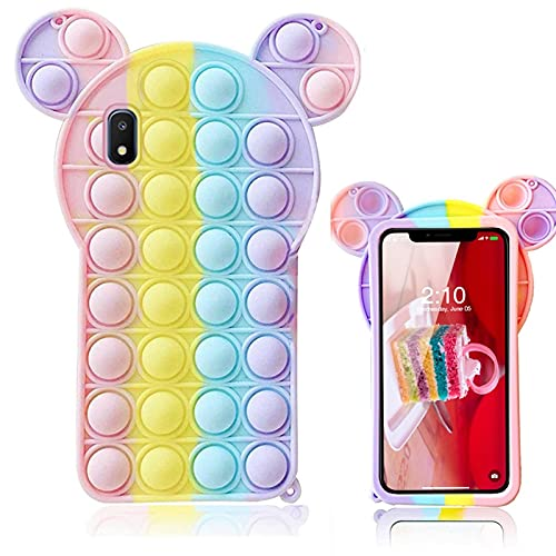 Samsung Galaxy A10E Case, 3D Minnie Mickey Mouse Cartoon Funny Cute Cool Kawaii Designer Funny Fidget Toy Shockproof Protective Skin Cover Cases for Boys Girls Women Men Teens
