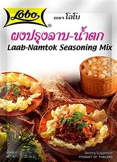 Lobo, Laab-Namtok Seasoning Mix Powder, 30 g [Pack of 4 pieces]