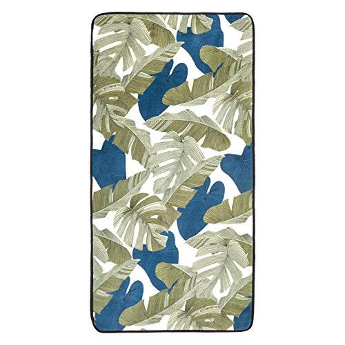 AmazonBasics Bedruckter Schaumstoff-Teppich, Blätter, 70 x 140 cm