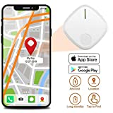 TSIGETHCHIC Smart Key-Finder Anti-Lost RF Item Locator, Wireless Bluetooth Tracking-Device for Keys and Wallet (White)