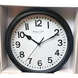 Mainstays Sterling & Noble Wall Clock - Black