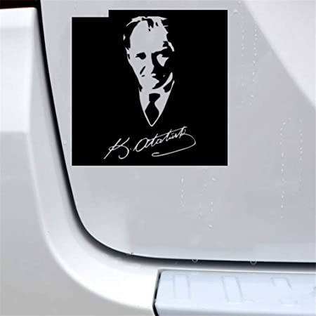 Ataturk Atatürk vehicle Graphic Turkish car sticker
