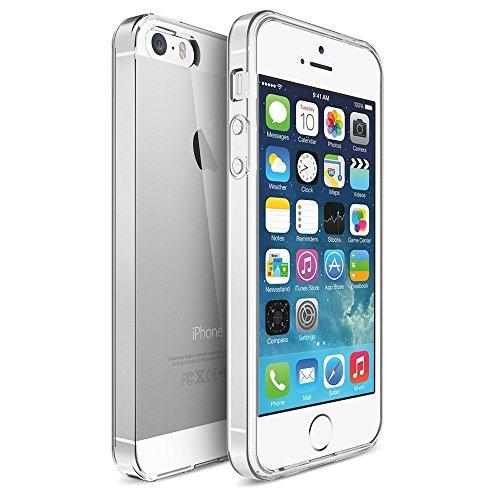 Roar Handy-Hülle für iPhone 5 / 5S, Hülle Silikon Transparent Durchsichtig, Schutzhülle Cover [Ultra Slim Hülle, Material: TPU Silikon]