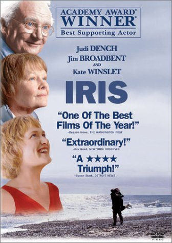 Amazon.com: Iris [DVD + Digital]: Dench, Judi, Broadbent, Jim ...