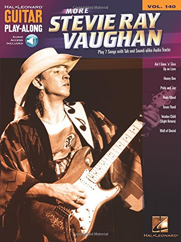 More Stevie Ray Vaughan: Guitar Play-Along Volume 140
