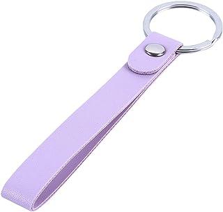 LALANG Men Women Personality Creative Weaving Diy Bag Car Keychain Key Ring