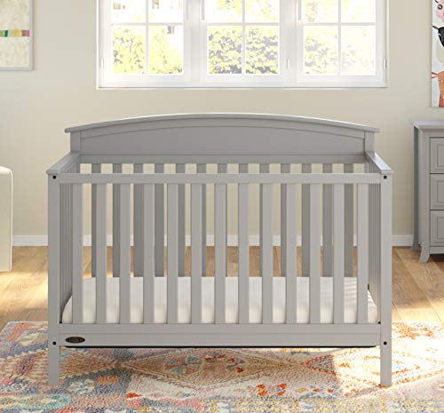 Graco Benton Convertible Crib, Pebble Gray