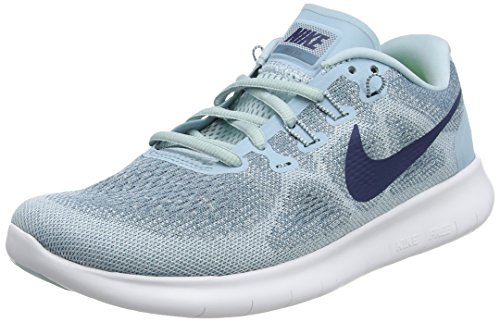 Nike Damen Free RN 2017 Laufschuhe, Blau (Ocean Bliss/Navy/Glacier Blue/ 405), 36.5 EU