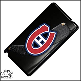 Canadiens Hockey Samsung Note 3 PLASTIC cell phone Case / Cover Great Gift Idea Montreal