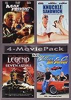 MAX HAVOC / KNUCKLE SANDWICH / LEGEND OF SEVEN MONKS / COLLIER & CO. (4-MOVIE PACK)