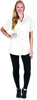 Betty Dain Esthetician Pro Jacket, White, Small, 16 Ounce