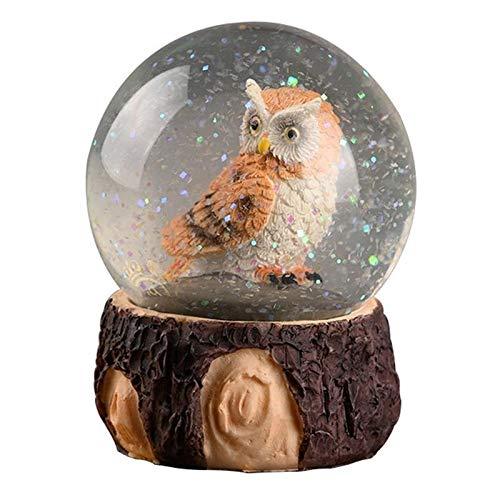 Adivinación con Bola de Cristal Bola de Cristal adornador Creativo búho nórdico Bola de Cristal Bolas Decorativas Bolas Decorativas Bola de Cristal