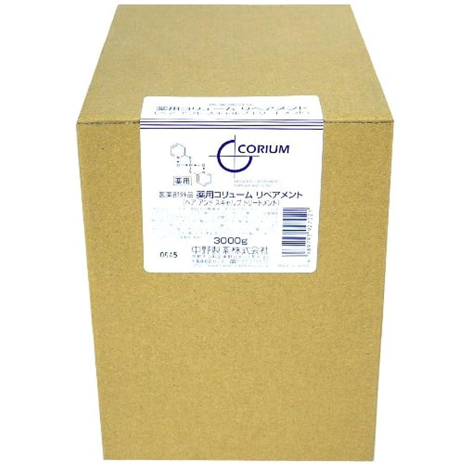 ドライブレール減衰ナカノ 薬用 コリューム リペアメント 3000g