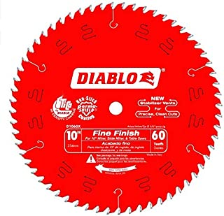 "Diabo by Freud D1060X 10"" x 60 Tooth Fine Finish Saw Blade"