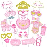 Konsait Baby Shower Photo Booth Props, bebé Ducha Cumpleaños Cabina...
