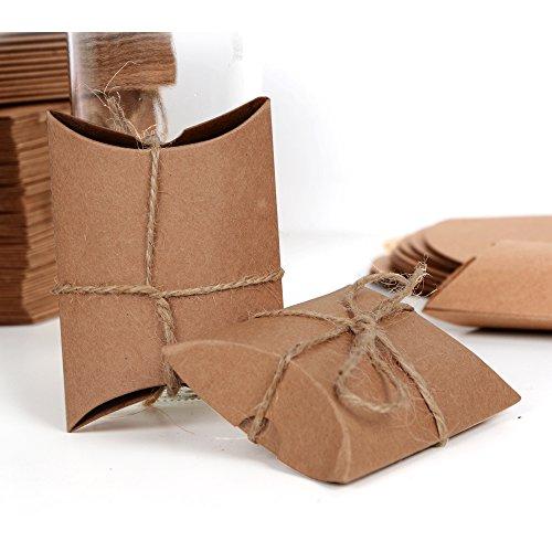 Geschenkboxen aus Kraftpapier |100 Stück - 2