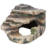 Trixie - Roca de Esquina con Cueva y Plataforma, 16x 12x 15cm