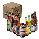 INTRO BEER CLUB Box Degustazione Birre Artigianali - Selezione di Birre dal Mondo'Ipa Lovers' - Kit con 9 Birre da 33cl - Confezione Idea Regalo Uomo