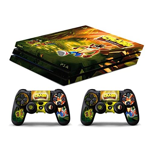 Skin PS4 PRO HD - CRASH BANDICOOT - limited edition DECAL COVER ...