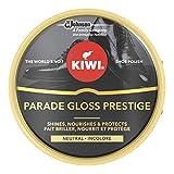 Kiwi - Lata de Crema incolora, Abrillanta, Nutre y Protege el calzado, 50ml, Pack de 4
