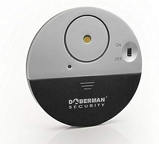Iseebiz 防犯アラーム 窓 ドア用 振動センサー アラーム 警報機 防犯グッズ 100dB音量 超薄型 (1)